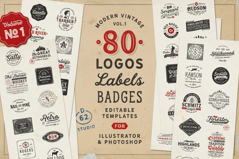 D62 Vintage Logos 1