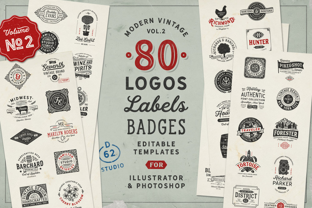 D62 Vintage Logos 2