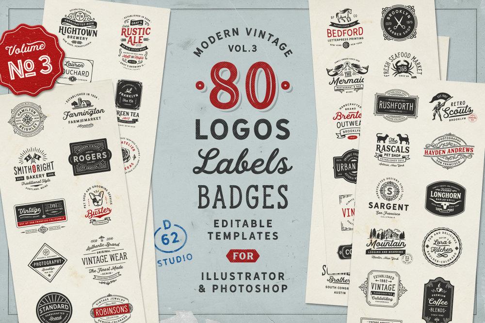 D62 Vintage Logos vol.3