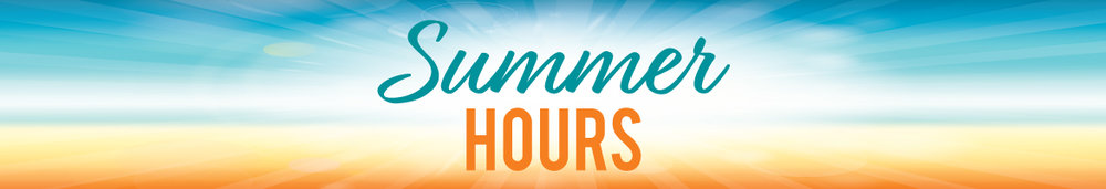 The school office is open Tuesday, Wednesday and Thursday 9 -3. Have a safe and fun summer!