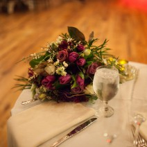 Romantic Candlelight wedding @ White Barn. Photography by Boxwood Photography.