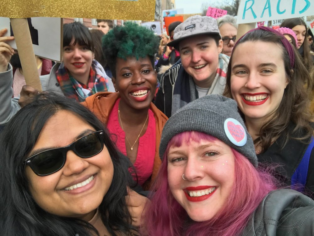 Women's March with Friends :)