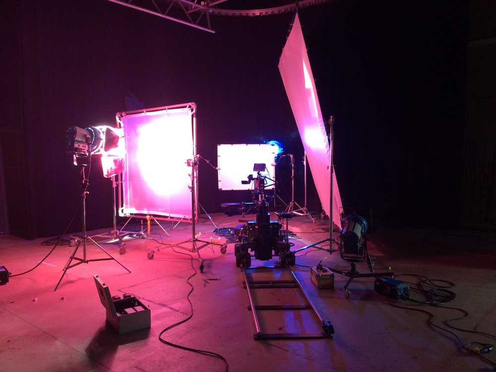 Our high speed shoot setup in the studio.