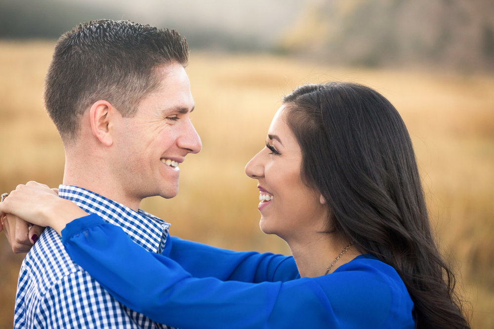 Marisa & Aaron Boulder Colorado Engagement Session