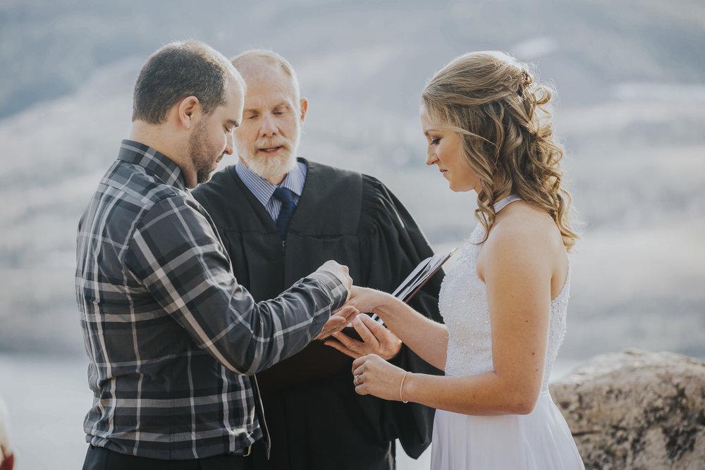 Megan & Jordan Colorado Mountain Wedding