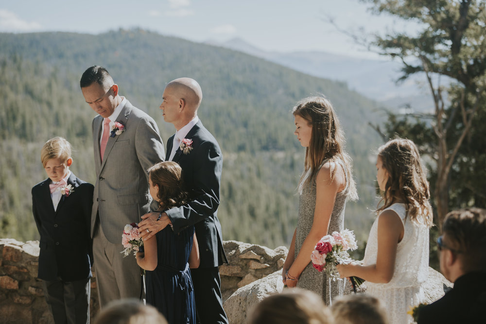 Brad & Paolo Colorado Mountain Wedding
