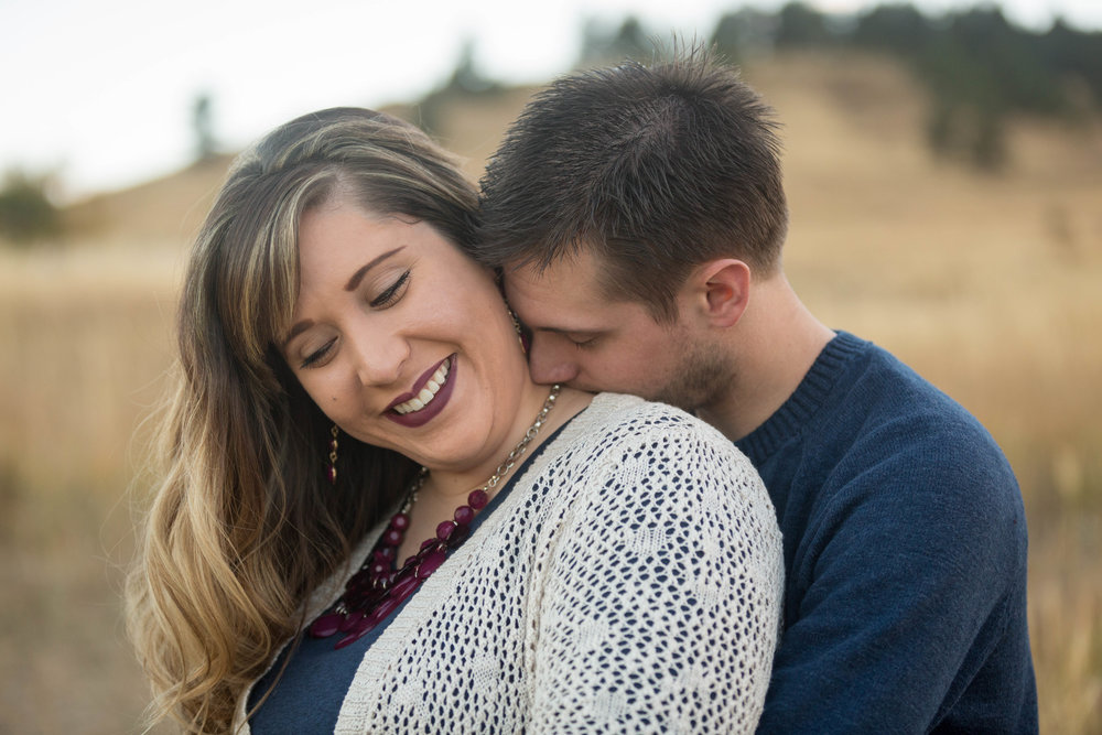 Karissa & TJ Boulder Engagement Session