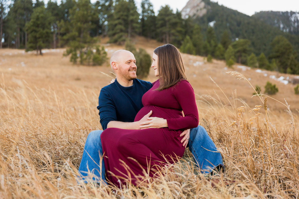 Elise and Chip Boulder Engagement Session