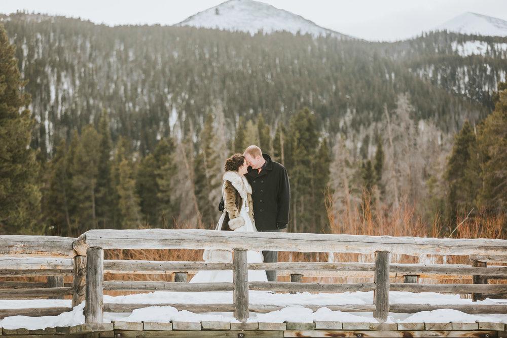 Molly Estes Park Wedding