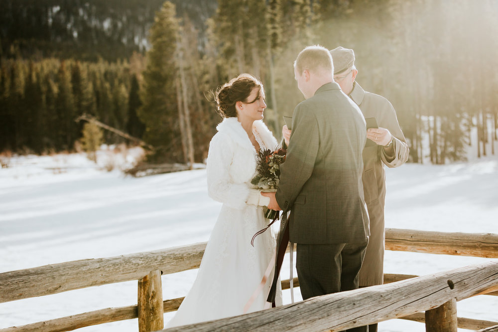 Estes Park Mountain Elopement