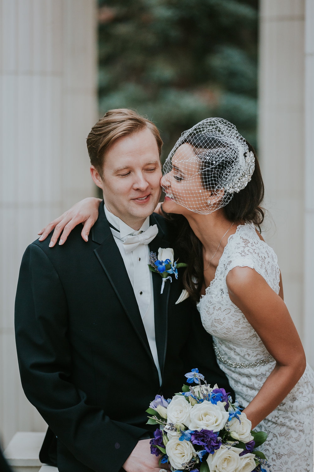 Annique and Travis' Grant-Humphreys Mansion Spring Wedding