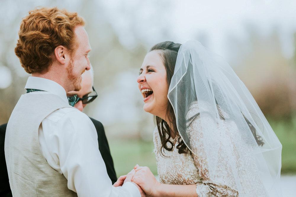 Sarah and David Hudson Garden Wedding