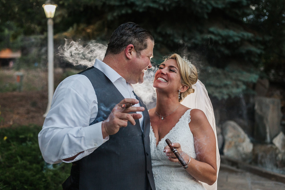 James and Kacey Colorado Wedding