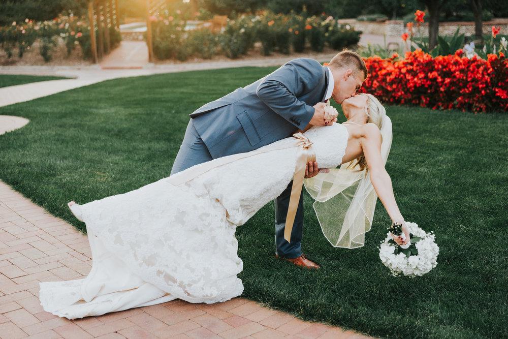Angela and Todd's Hudson Garden Wedding