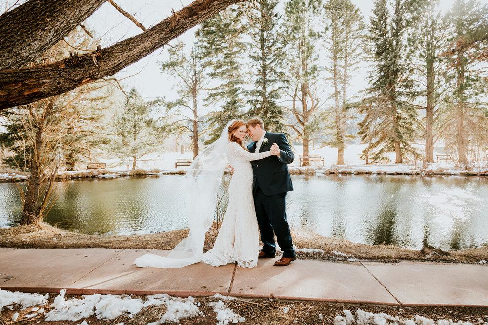 Cecilia and Gabe's Colorado Springs Elopement