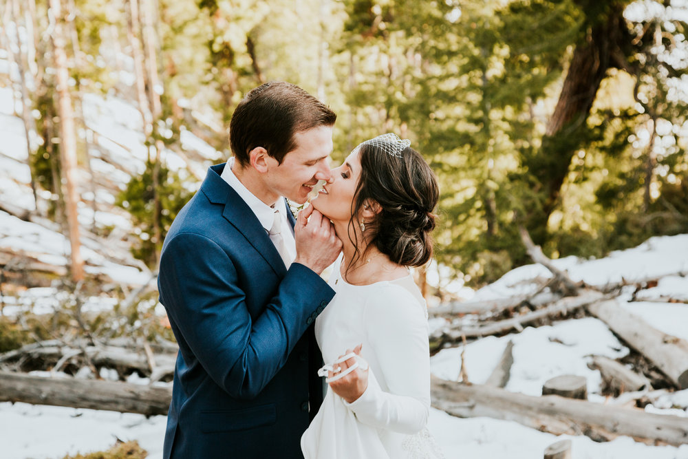 Tehia and Marlo Sapphire Point Elopement