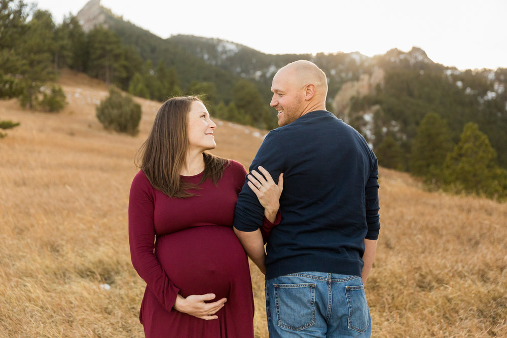 Elise and Chip Maternity Session