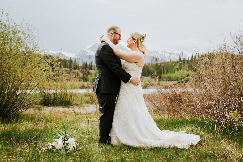 Kelley and Ted's Sapphire Point Elopement