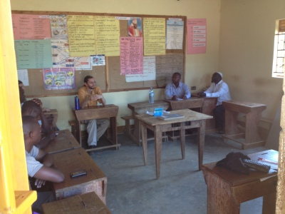 Ecosan Meeting at UMEA Primary School in Kalisizo, Uganda