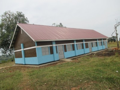 New Classroom Building at Nakasoga Primary School