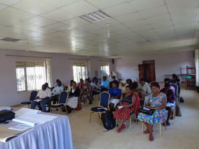Rakai District Health Official  Meet to Discuss New BbB Health Program