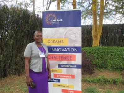 My Pads Program Coordinator Suzan Kyambadde