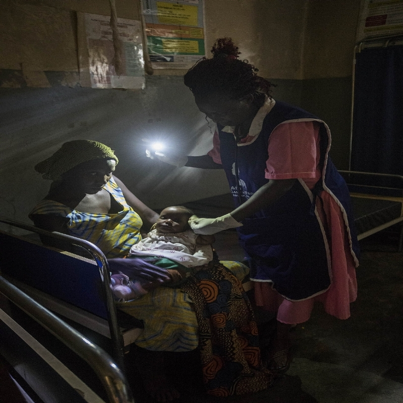 In 2018, with We Care Solar, we will 'Light Every Birth' at 15 Health Centers.
