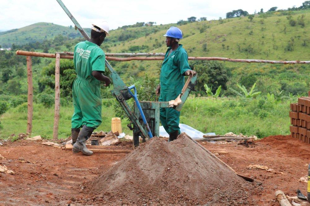 Brick by Brick masons begin work on the new Lwamaggwa Health Center III