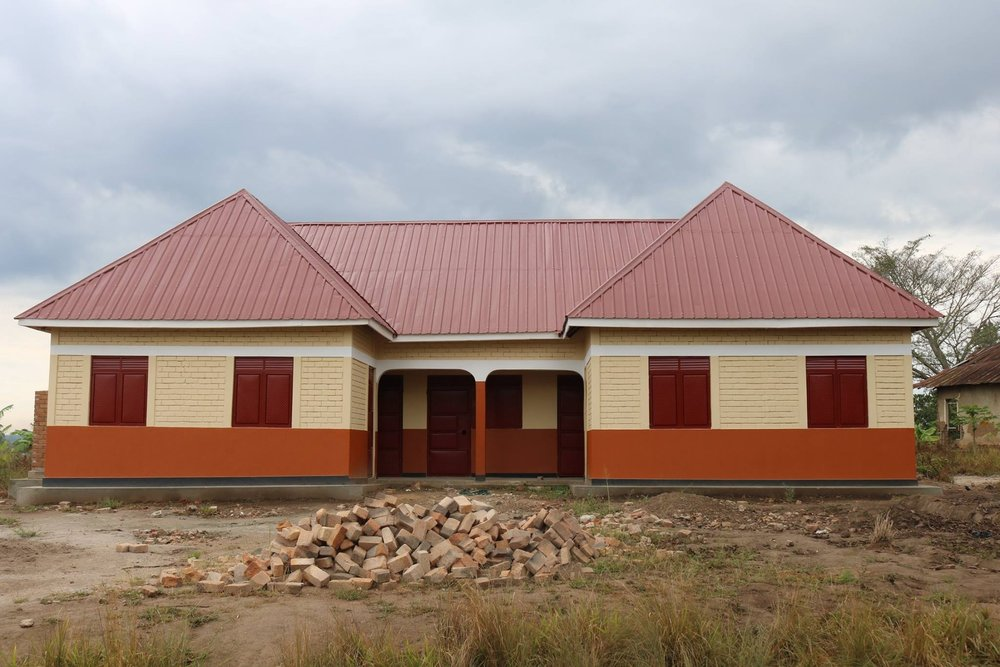 Newly constructed Nsambya Primary School Teacher Housing