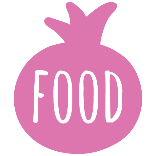pom logo food menu
