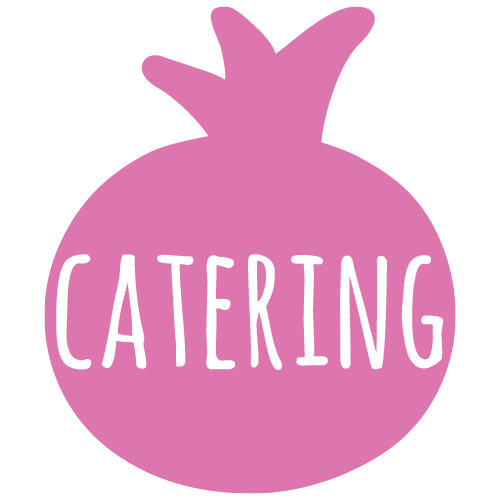 pomegranate catering menu