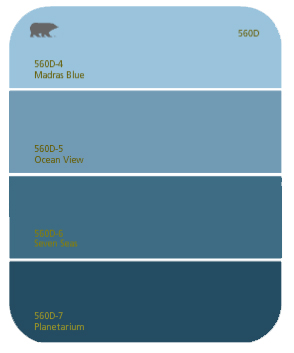 behr blues - nautical themes for paint