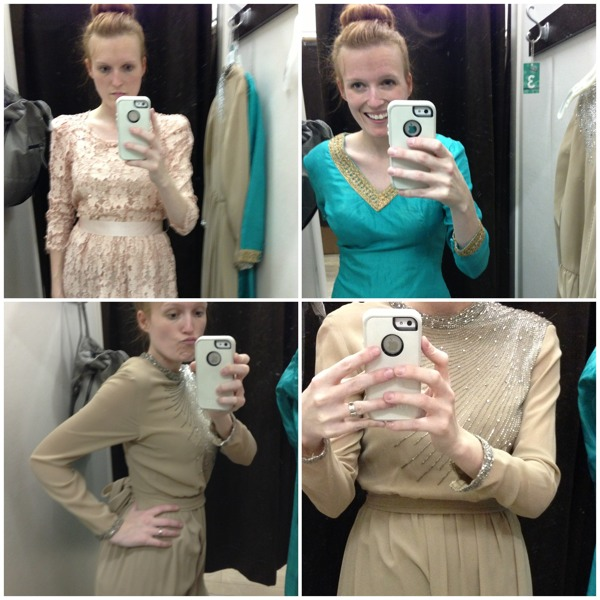 looking for the right costume for downton abbey at the buffalo exchange