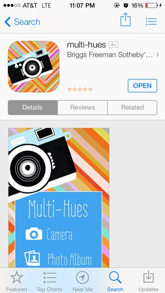 Multi hues - photo editing app