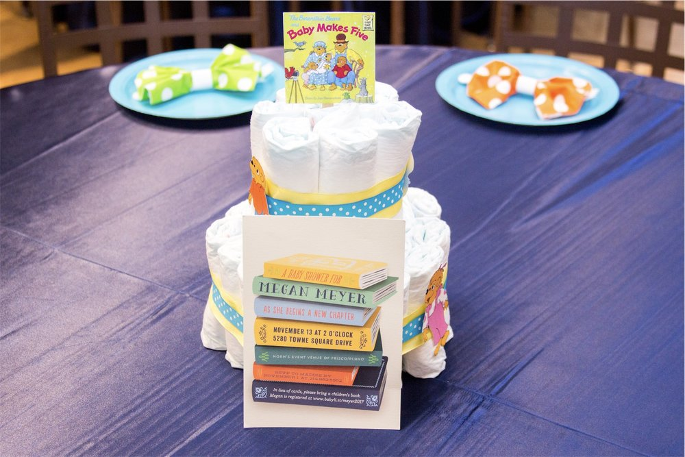 Book-Themed Baby Shower