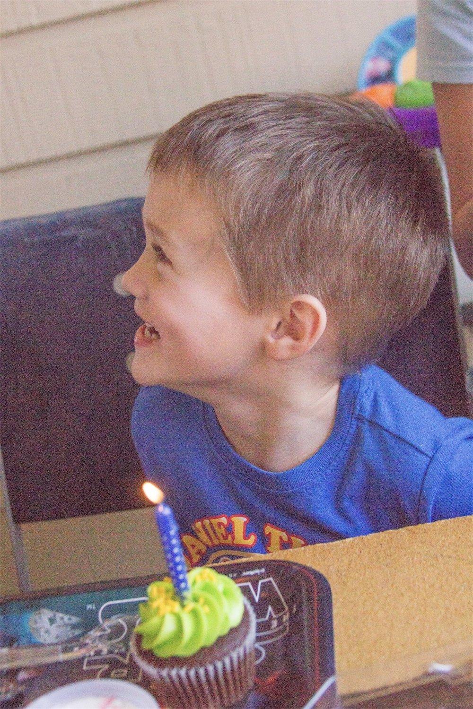 Isaac is 4 - Birthday Party Photos - Denton TX