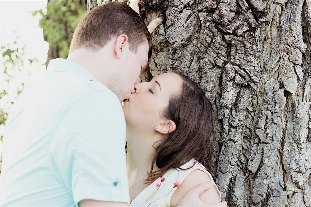 Jonathan and Marissa's Fall Engagement Session - Denton, TX Photography