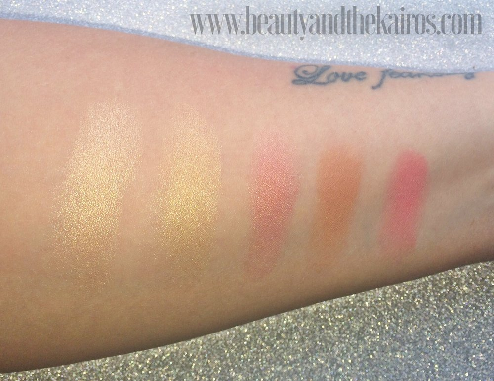 Jaclyn Hill Becca Champagne Collection Swatches