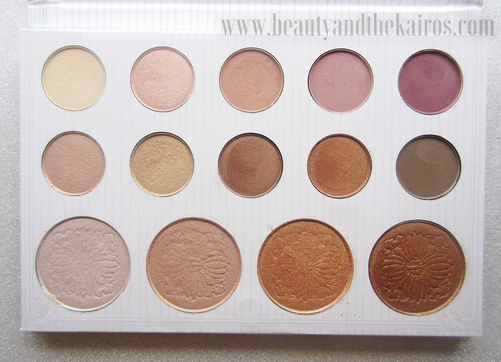 Carli Bybel Pallet Eyeshadow Highlighter BH Cosmetics