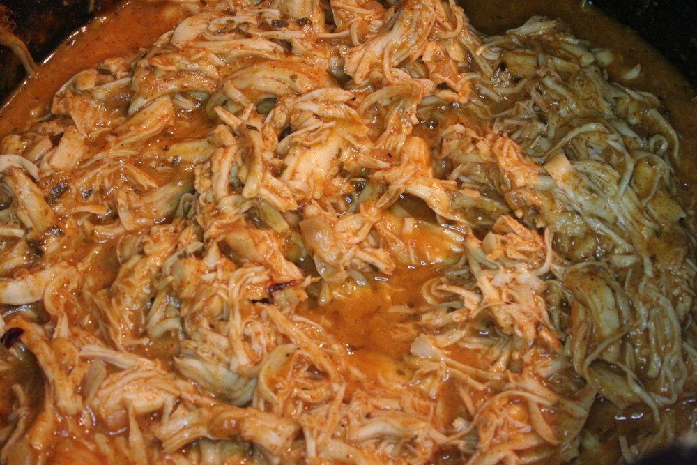 Crock Pot Shredded Chicken Ranch Tacos