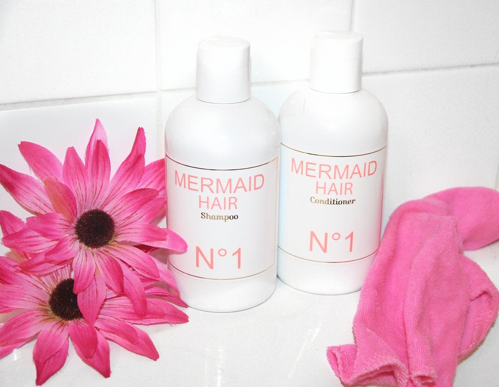 mermaid hair shampoo conditioner katelyn fleming