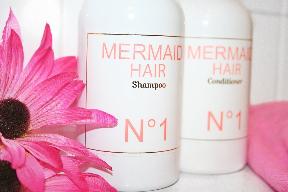 mermaid hair shampoo conditioner katelyn fleming