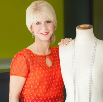 New Zealand designer Jules Bly launched her bridal business in 1989