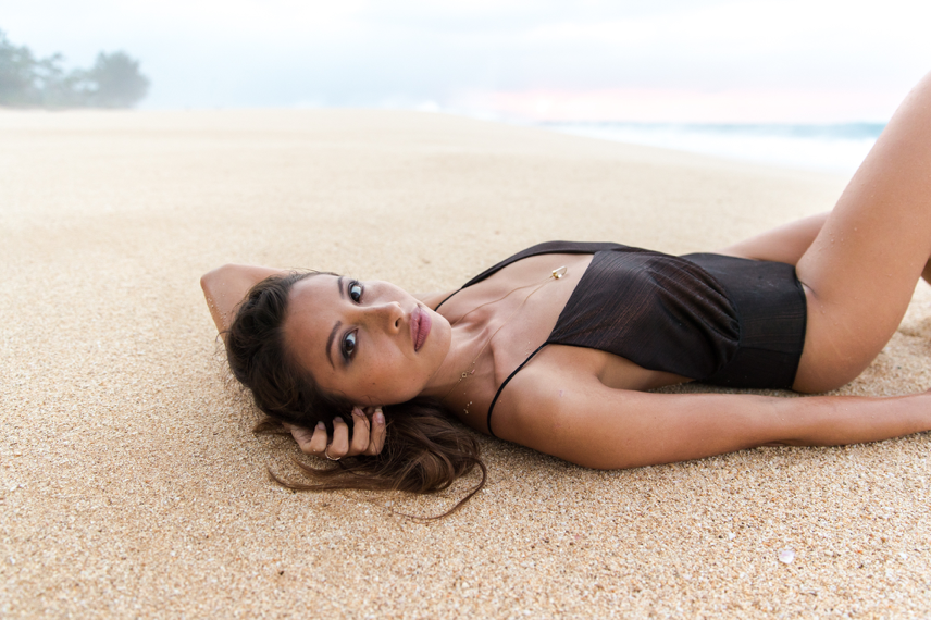 Hawaii models should typically start with swimsuit and more natural beach shots. - Photo by: Doug Falter