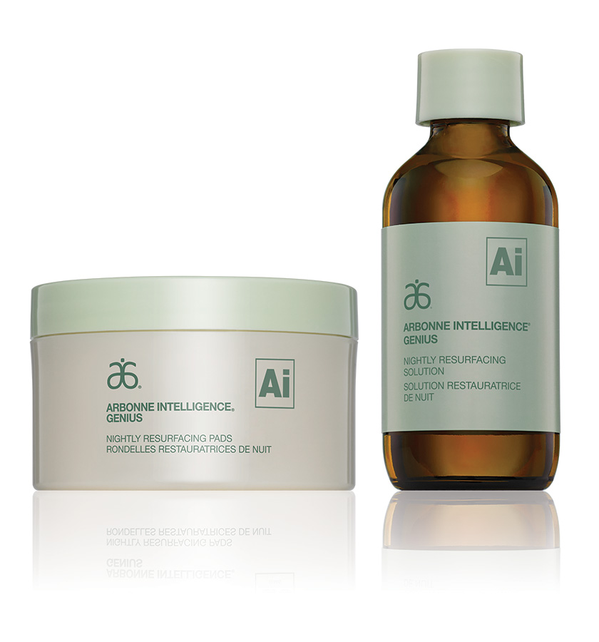 Arbonne Genius Nightly Resurfacing Pads
