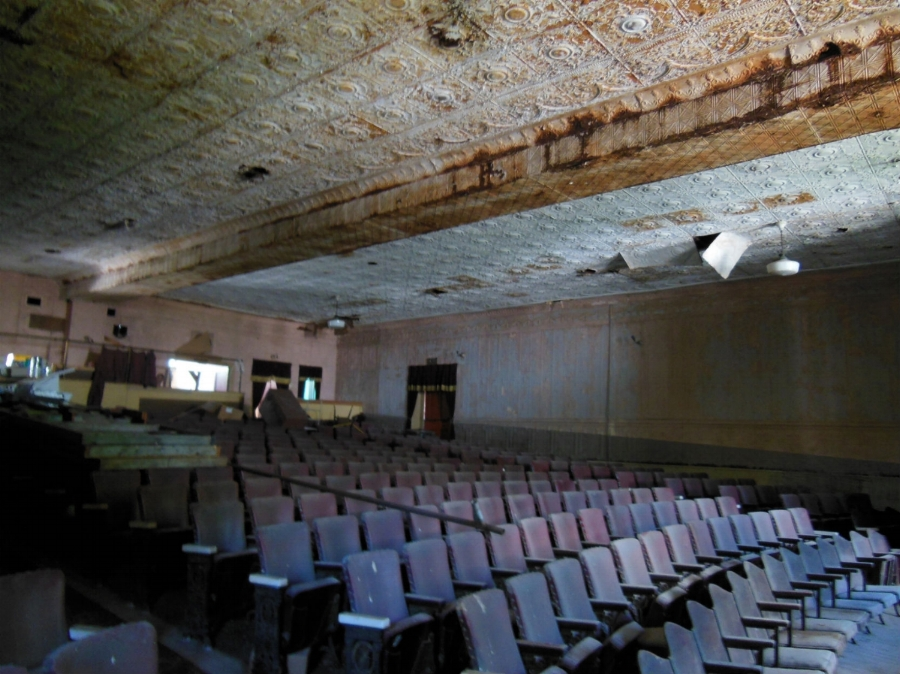 Klinkhart Hall theater today . . . click image to enlarge