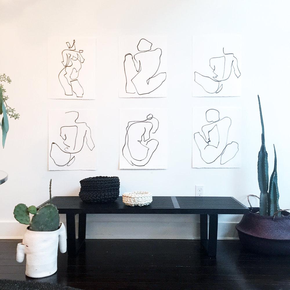 ORIGINAL ARTWORKS - NUDE SERIES II