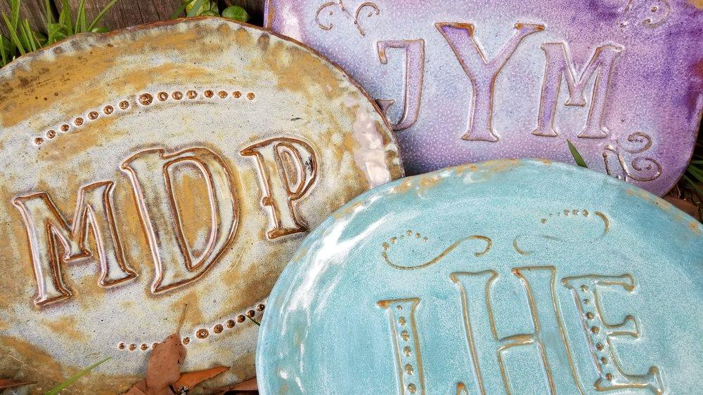 Monogram Platter May 16  6:00 - 8:00 p.m