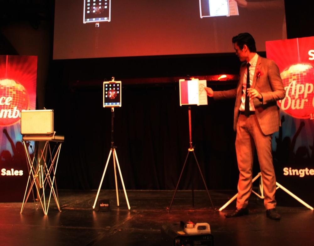 Singapore iPad Magic Stage