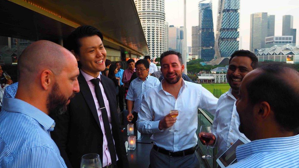 Corporate Magician Singapore iPad